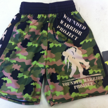 LAX FOR SOLDIERS CAMO Lacrosse Shorts